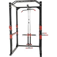 Power Lifting Station Rack Home Gym inkl. Latzug
