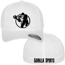 Flexfit Cap White - Gorilla Sports