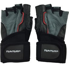 "Tunturi Krafttraining Handschuhe ""Fit Power""  Schwarz XL"