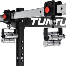 Tunturi Multigrip Pullup Sliders zu Cross Fit Rack RC20 Chrom